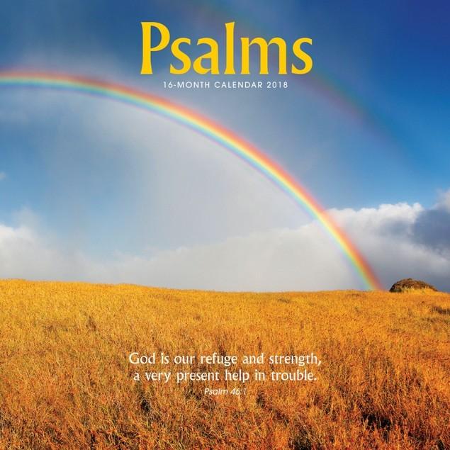 Psalms Wall Calendar, Christian by Vista Stationery & Print Ltd