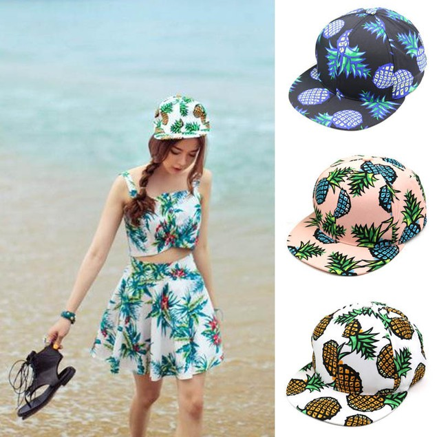 Pineapple Snapback Adjustable Baseball Cap