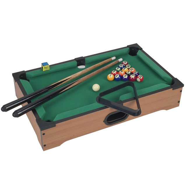 Trademark Games Mini Table Top Pool Table