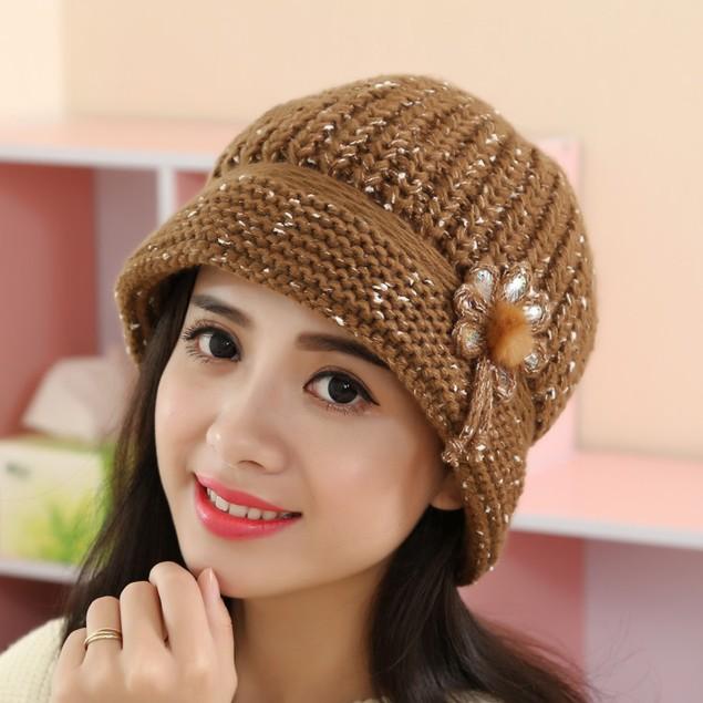 Fashion Women Lady Winter Warm Crochet Knitted Hat