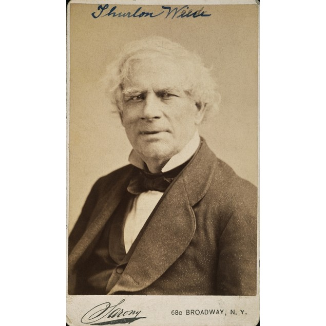 Thurlow Weed (1797-1882). /Namerican Journalist And Politician: Original Ca
