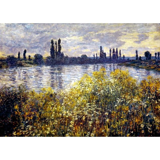 Monet: Seine/Vetheil, 1880. /Nclaude Monet: Banks Of The Seine, Vetheuil. C