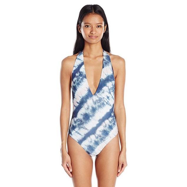 Billabong Women's Tidalwave One Piece Swimsuit, Multi, M