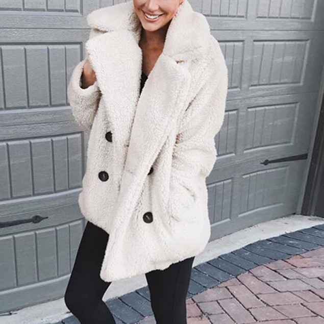 Plush Peacoat - Many Colors