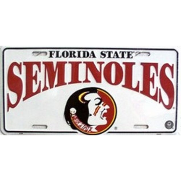 Florida State Seminoles NCAA License Plate