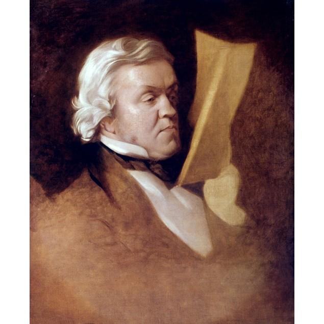 William M. Thackeray /N(1811-1863). William Makepeace Thackeray. English No