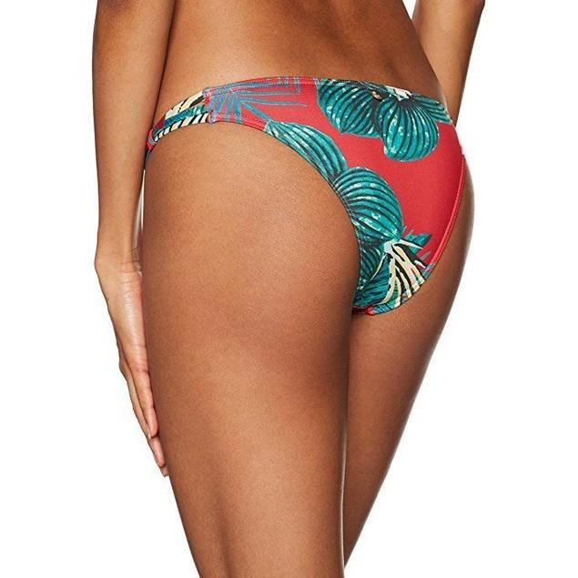 Roxy Women's Cuba Gang Surfer Bikini Bottom, Salsa Havana Flower, S