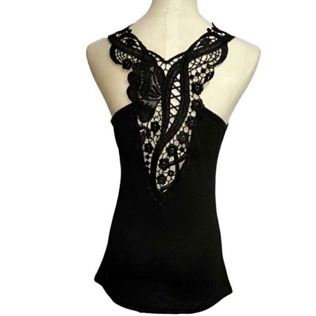 Women Lace Halter Top Fashion Sleeveless Camisole
