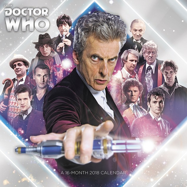Doctor Who Wall Calendar, Sci-Fi TV by ACCO Brands