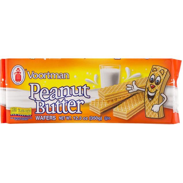 Voortman Peanut Butter Wafers Cookies