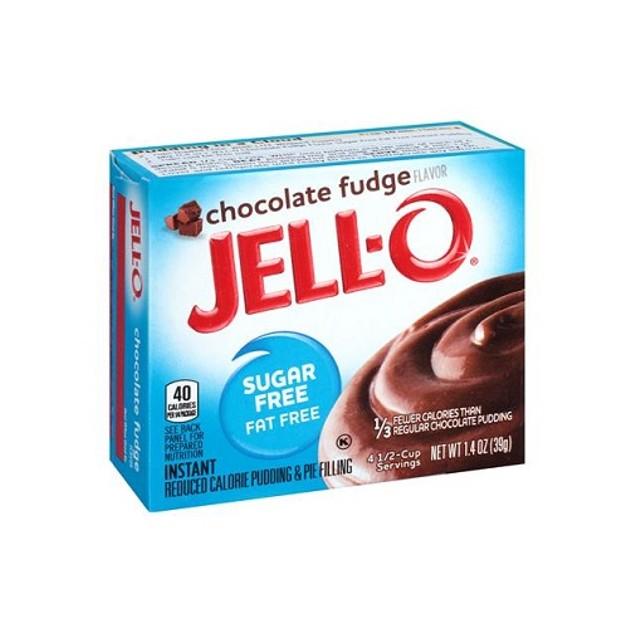 Jello Sugar Free Chocolate Fudge Instant Pudding & Pie Filling Mix