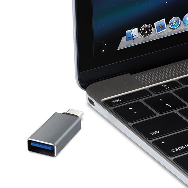 USB-C 3.1 Male to USB 3.0 Female Adapter for MacBook