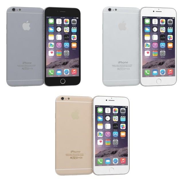 Apple iPhone 6 16GB GSM Unlocked (Black, Gold or Silver)
