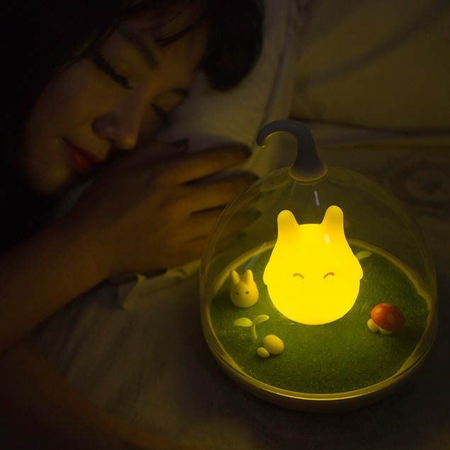 LED Nightlight Lamp Touch Sensor Cute Light Home Decor Bedroom