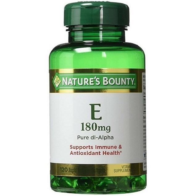 Nature's Bounty E-400 IU Pure dl-Alpha Rapid Release Softgels