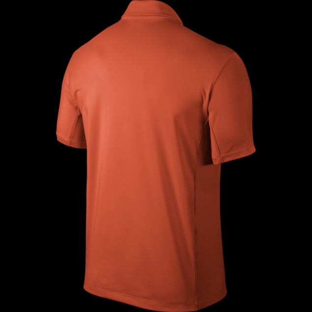 MENS Nike Golf Tech Ultra Polo Electro Orange/Wolf Grey 639711-843 SZ: