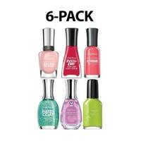6-Pack Sally Hansen Assorted Nail Polish