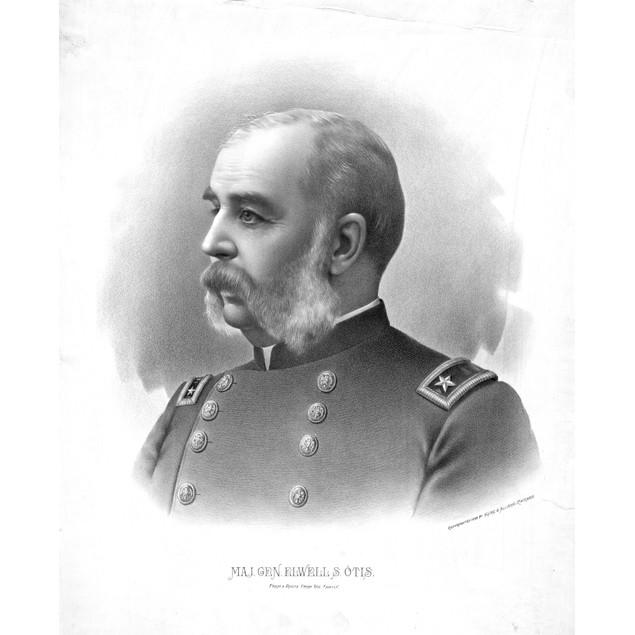 Elwell Stephen Otis /N(1838-1909). U.S. Army General Who Served In The Span