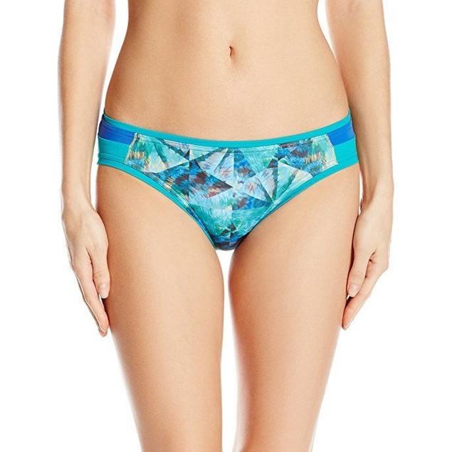 prAna Women's Milou Bottom, X-Small, Emerald Pinwheel Sz:xs