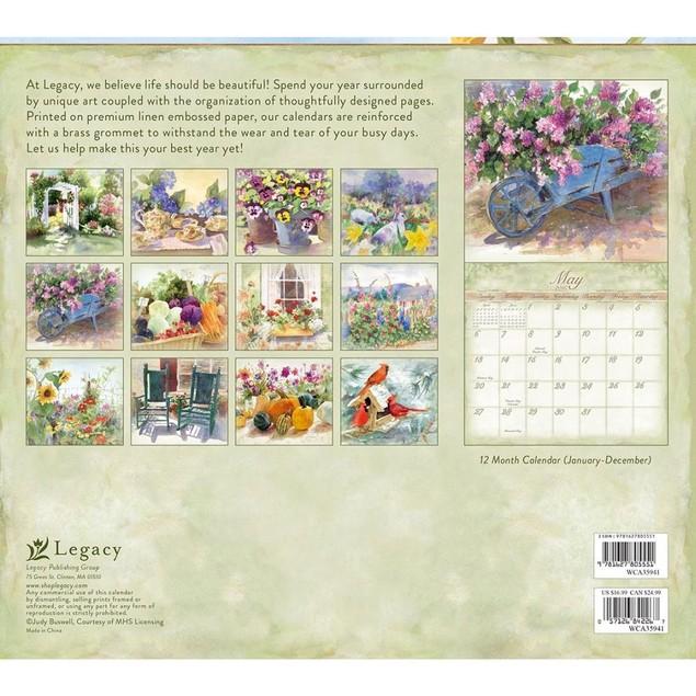 Watercolors Buswell Wall Calendar, More Folk Art by Calendars