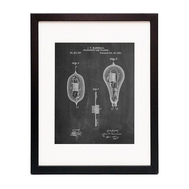 Incandescent Lamp Filament Patent Art