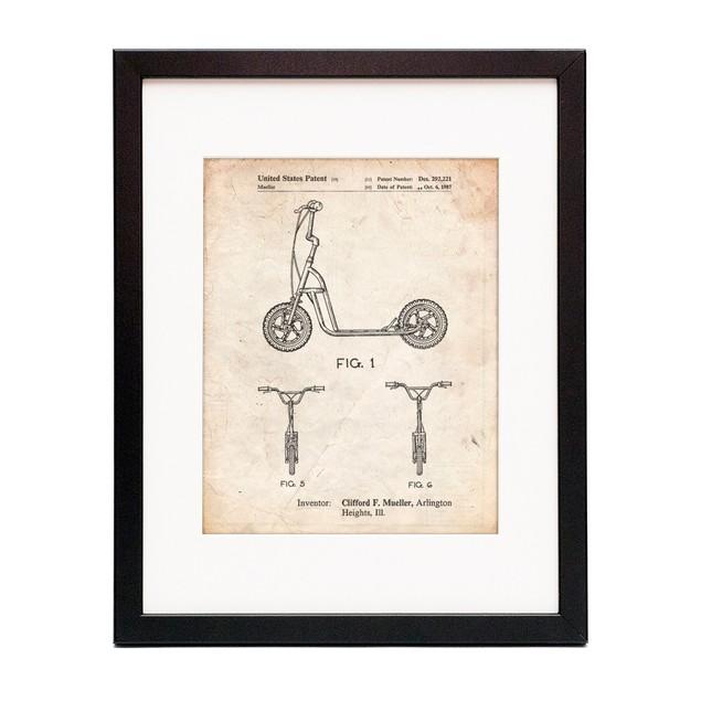 Scooter Patent Art