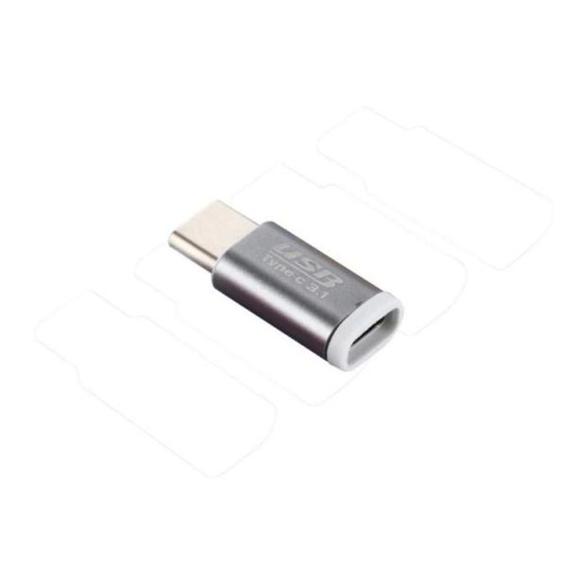 Micro USB Female to USB 3.1 Type-c Male Data Adapter for Oneplus 3