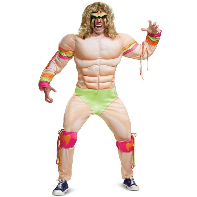 Ultimate Warrior Muscle Adult Costume