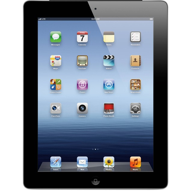 Apple iPad 2 MC769LL/A (16GB WiFi Black) - Grade B