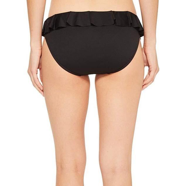 Polo Ralph Lauren Womens Modern Solid Ruffle Hipster Bikini Bottom Sz