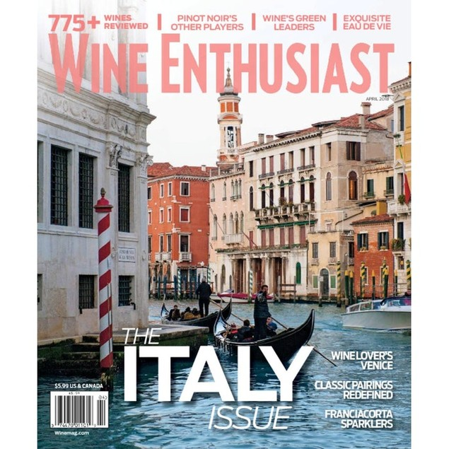 Wine Enthusiast Magazine Subscription