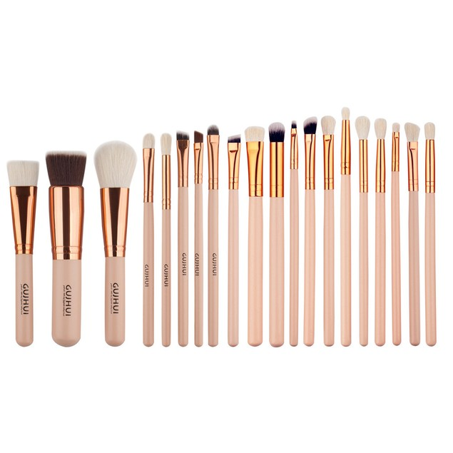 20 PCS Cosmetic Makeup Brush Makeup Brush Eyeshadow Brush