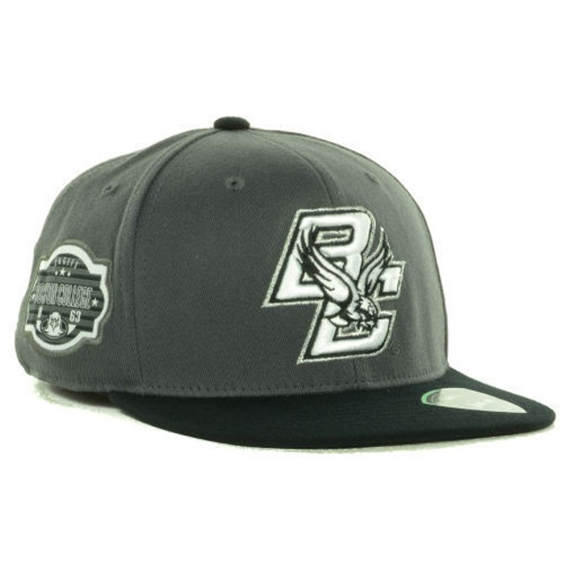 """Boston College Eagles NCAA TOW """"Slam"""" Flat Bill Stretch Fitted Hat"""