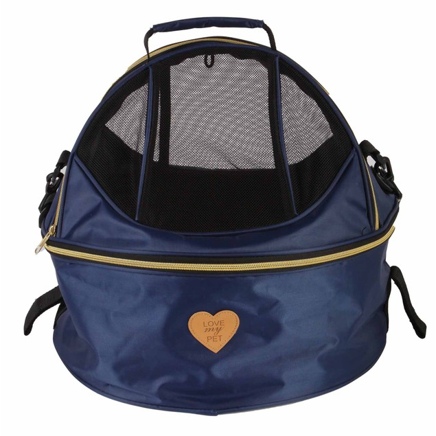 Pet Life 'Air-Venture' Dual-Zip Airline Approved Panoramic Pet Dog Carrier