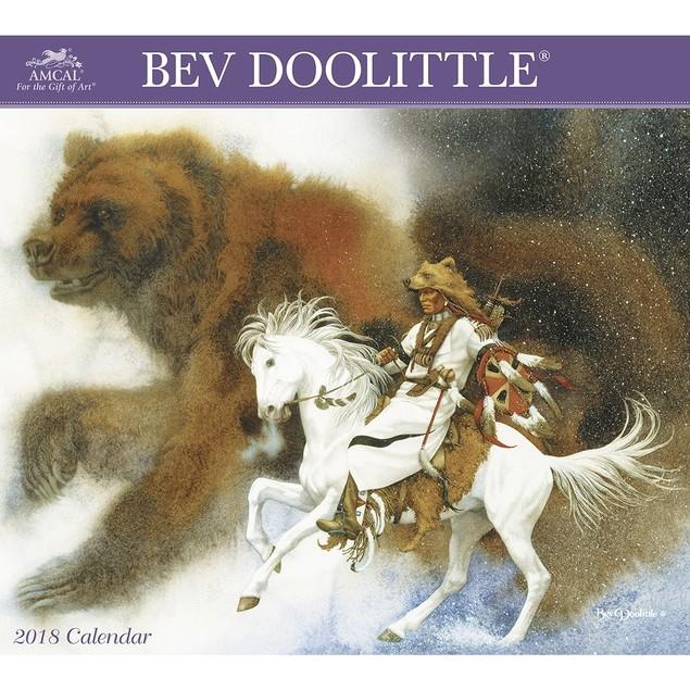 Bev Doolittle Deluxe Wall Calendar, Wildlife by Calendars