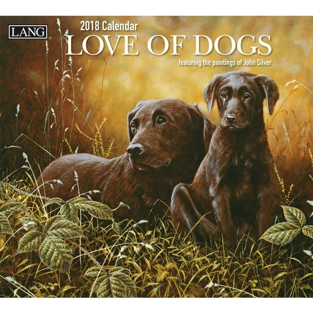 Love of Dogs Wall Calendar