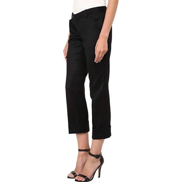 DSQUARED2 Women's Gaenor Billy Pants Black 40 (US 26/27) X 27