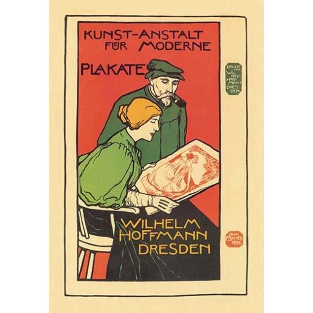 Wilhelm Hoffmann, Dresden-Printers of Modern Posters.  Ernst Otto Fischer,