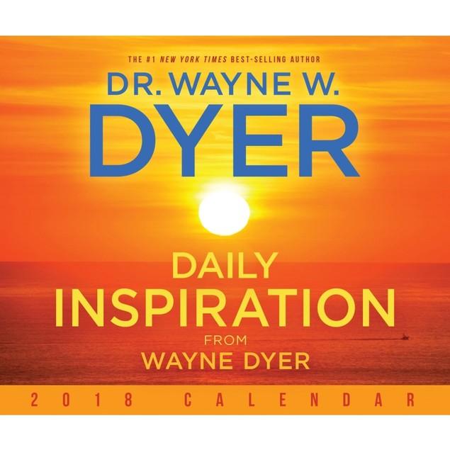 Daily Inspiration from Wayne Dyer Desk Calendar