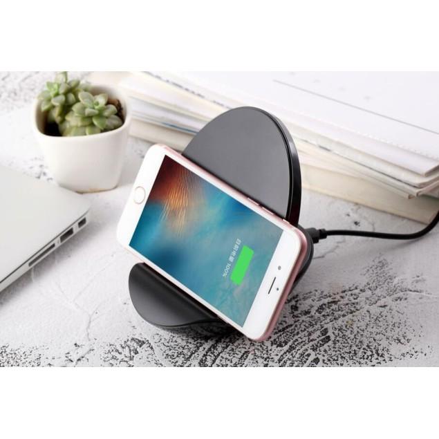 Wireless Charging Smartphone Dock With Built-In Bluetooth Speaker