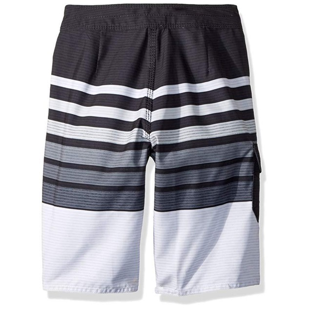 Billabong Boys' Big Day OG Stripe Boardshort, Black, 29