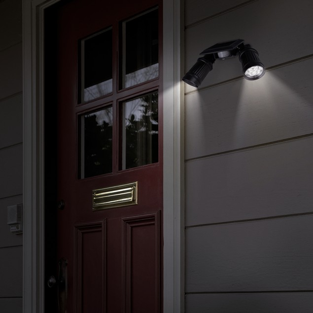 Everyday Home Solar Powered Security Spotlight