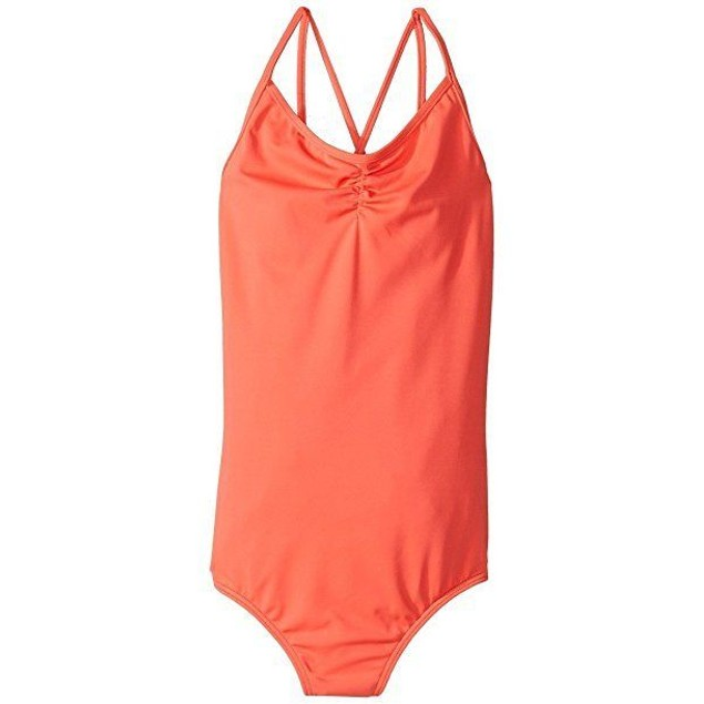 Billabong Girls Sol Searcher One Piece Swimwear Tropical Punch SZ 14