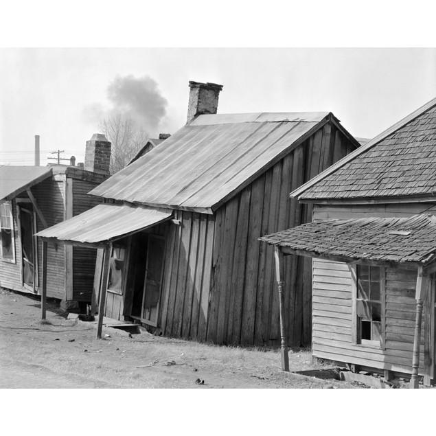 Mississippi: Shacks, 1936. /Nafrican American Shacks, Mississippi. Photogra