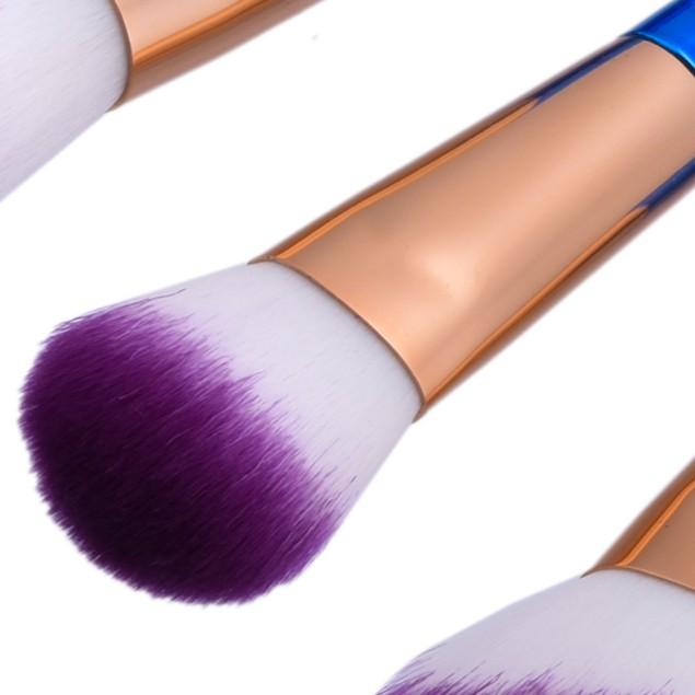 10Pcs Blending Pencil Foundation Makeup Brushes Eyeliner Brush 203