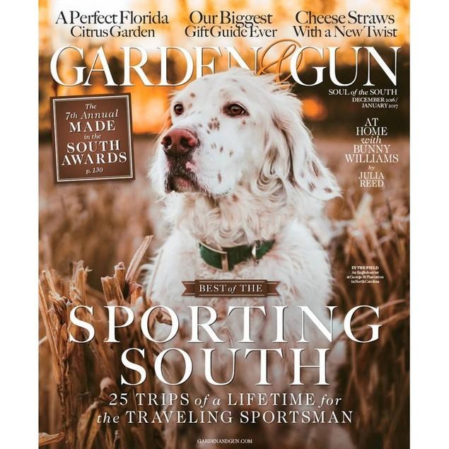 Garden & Gun Magazine Subscription