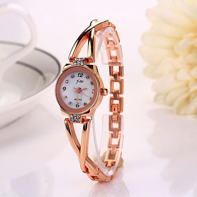 Fashion Women Girl Bracelet Watch Quartz Alloy Wrist Watch