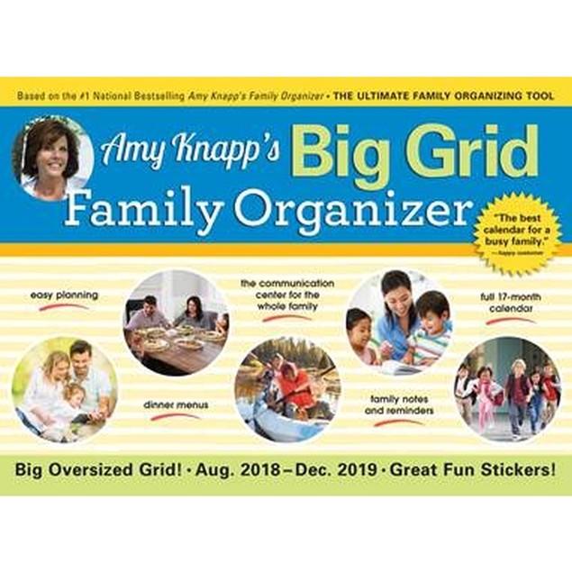 Amy Knapps Family Organizer Wall Calendar, Family Organizer by Calendars
