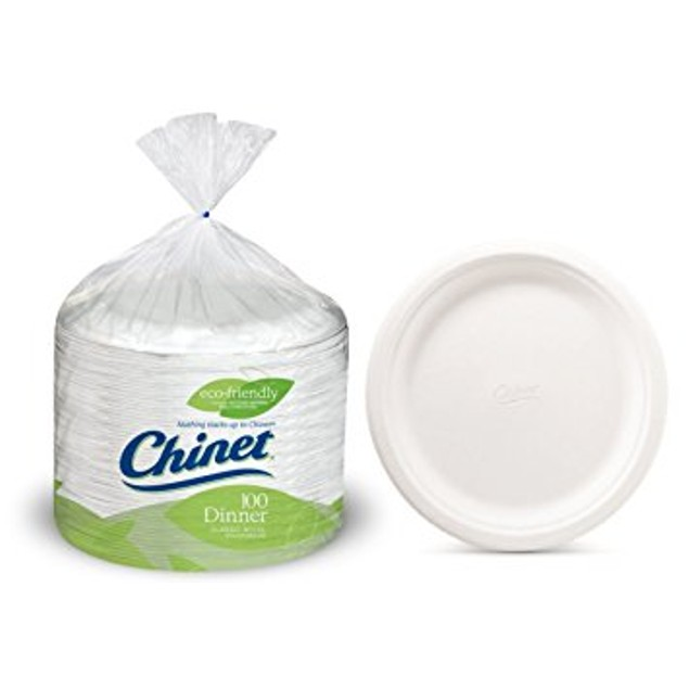 Chinet 10 3/8 Dinner Plate 100-count Box