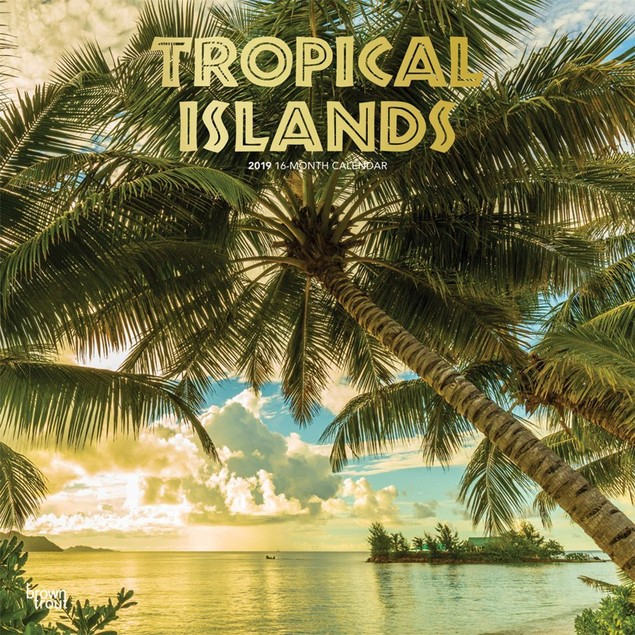 Tropical Islands Wall Calendar, Beaches by Calendars